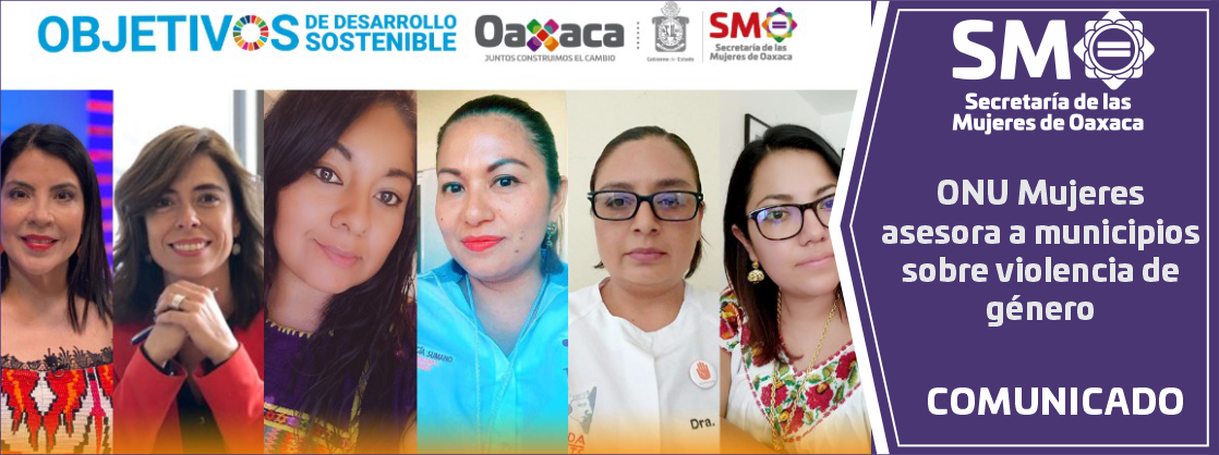 ONU Mujeres asesora a municipios sobre violencia de género