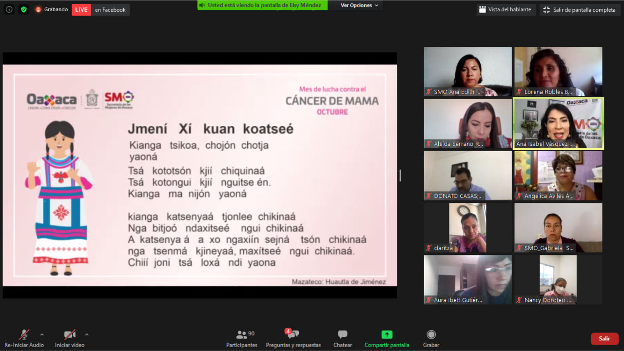 19oct2020 Conversatorio Cáncer de mama 2