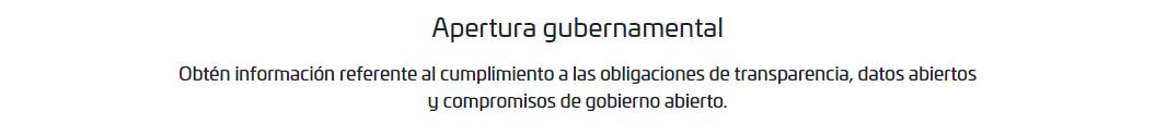 Apertura Gubernamental
